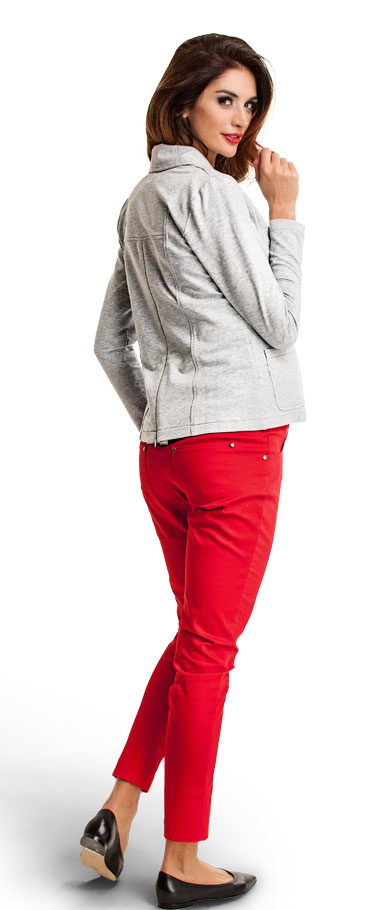 Pantalon de grossesse rouge