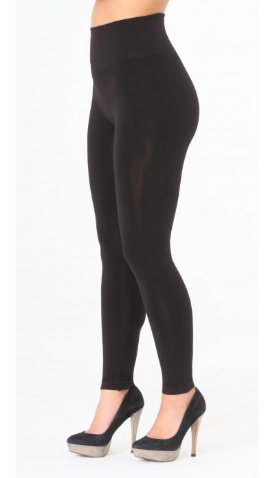 Legging noir gainant post grossesse